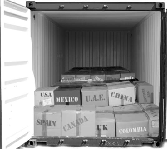 Перевозки сборных грузов из Европы - Pacific Group